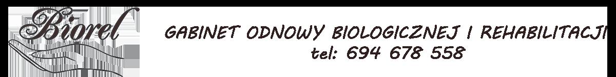 Gabinet Odnowy Biologicznej i Masażu Biorel w Bielsku-Białej